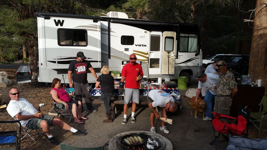 Trout Campfire